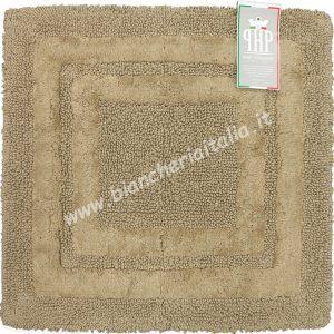 Scendidoccia tappeto bagno SIRIO cm. 50x50 cammello-0