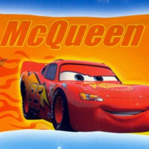 Federa copriguanciale Disney Puzzle Cars Team-0