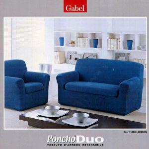Copri divano Poncho Duo London 2 posti-0