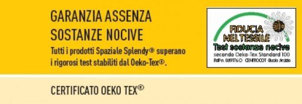 Accappatoio Spaziale Splendy Texwinner tinta unita microfibra-13585