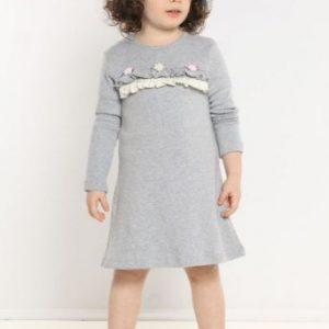 Camicia notte bambina rosa-0