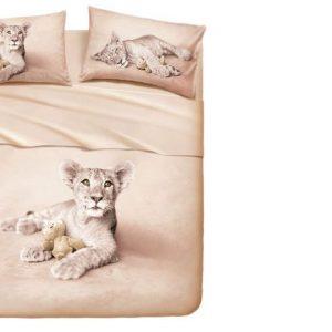 Lenzuolo animali Bassetti piazza mezzo Lion-0