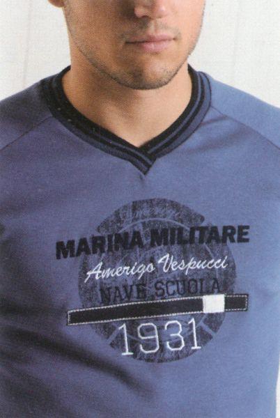 Pigiama uomo Marina militare 91729 tg.s-16835