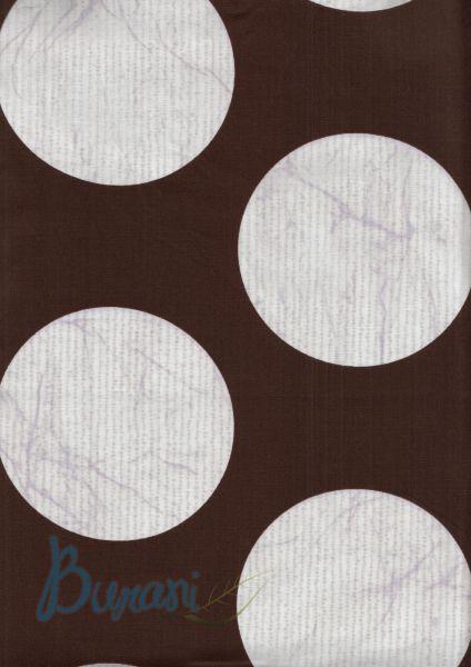 Copripiumino GIADA marrone piazza mezzo Bassetti (sacco 200x246 + 1 sotto lenzuolo 125x200 + 1 federa 50*80)-18004