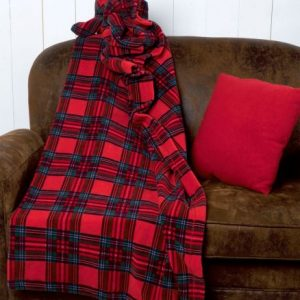 Plaid coperta divano 160x180 SCOTTISH 6M61851 517E-0