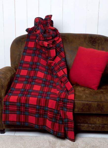 Plaid coperta divano 160x180 SCOTTISH 6M61851 517E-0