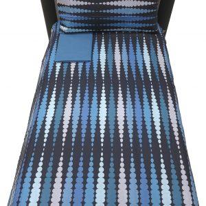 Copripiumino Brio Backgammon blu piazza mezzo bassetti