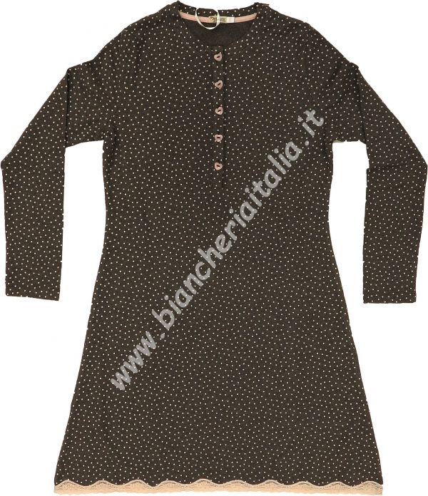 Camicia notte 6M92477 manica lunga invernale maryplayd-22842