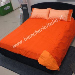 Copripiumino Chromo matrimoniale gabel arancio-0