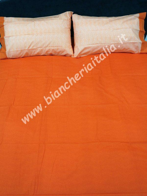 Copripiumino Chromo matrimoniale gabel arancio-27270