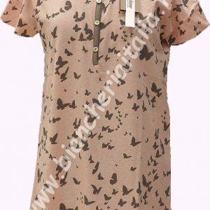 Camicia notte donna leggero 6M96568 COTONE leggera manica corta-0