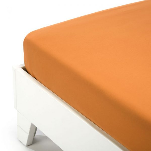 lenzuolo inferiore caleffi color arancio