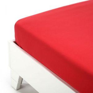 lenzuolo inferiore caleffi color rosso