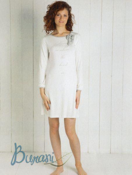 Camicia notte donna 6M96141 a143 VISCOSA MARYPLAYD TAGLIA S-30194
