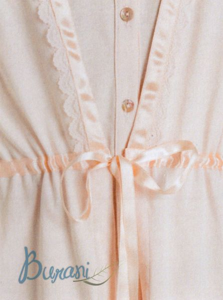 Vestaglia donna 6M96131 B307 leggera maryplayd rosa taglia L -XL-30226