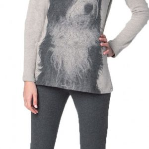 Pigiama donna invernale 6M92030 576E grigio morbido e caldo Mariplayd TAGLIA XS - XL-0
