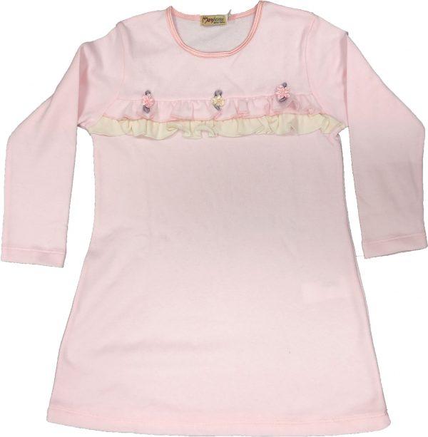 Camicia notte invernale 6M90962 manica lunga bambina TAGLIA 4 - 6 -8 -10-0