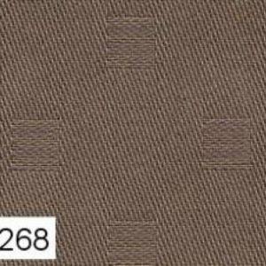 Tovaglia 6 posti 150x180 Cherie Bossi tinta MARRONE 268 con tovaglioli-0