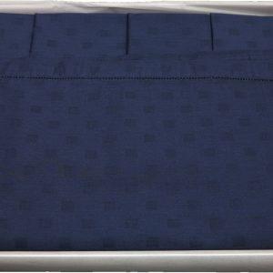 Tovaglia 12 posti 170x270 tinto indanthrene blu + tovaglioli TAG HOUSE-0