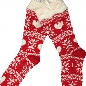 Calza tricot taglia S/M donna con antiscivolo-0