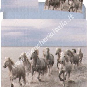 Copripiumino WILD HORSE matrimoniale