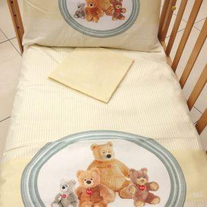 Copripiumino lettino FAMILY BEARS TURDY GABEL