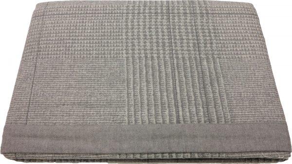 Copriletto leggero e morbidissimo HARRIS grigio Zucchi matrimoniale CM.260X260