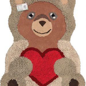 Tappeto bagno teddy CM.85x105-0