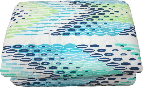 Quilt copriletto BARACOA azzurro