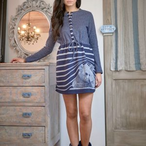 Camicia notte 6M93670 manica lunga invernale maryplayd