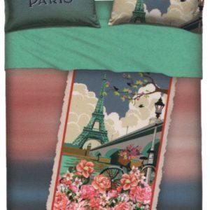 Lenzuolo PARIS matrimoniale bassetti (sopra lenzuolo 240x280 + 1 sotto lenzuolo 175x200 + 2 federa 50x80)
