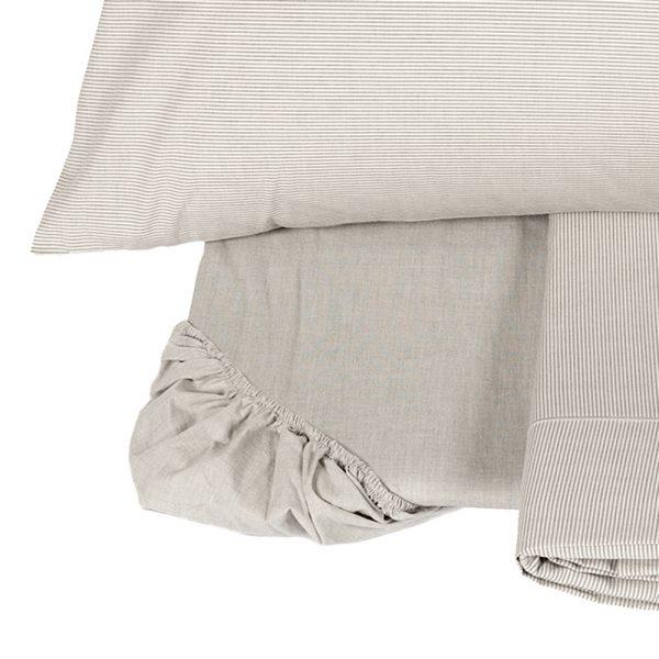 Lenzuolo STRIPS VAR.7 matrimoniale- FAZZINI - tessuto percalle 80 fili tinto in filo collezione Blow