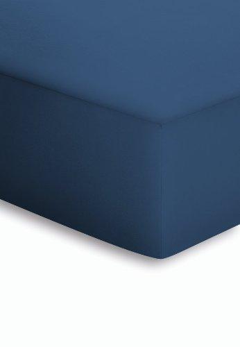 lenzuolo inferiore jersey schlafgut137 blu navy