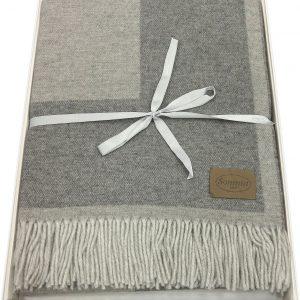 plaid lana somma gold grigio