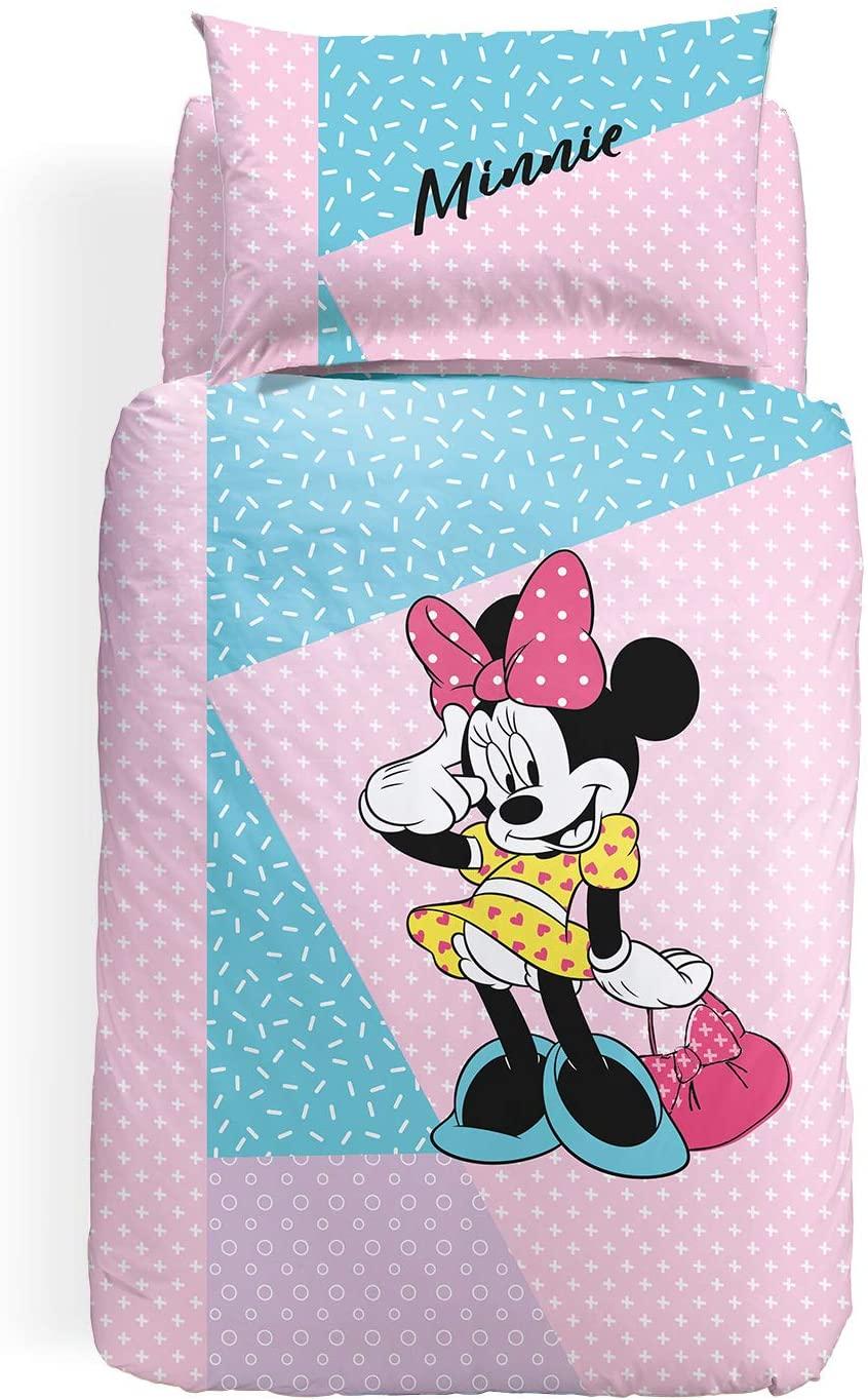 Copripiumino Singolo Caleffi Minnie Pink Disney