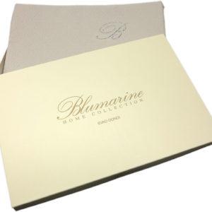 Copriletto matrimoniale estivo Blumarine Delfina silver